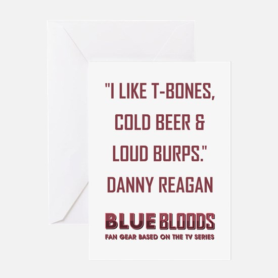 I LIKE T-BONES... Greeting Card