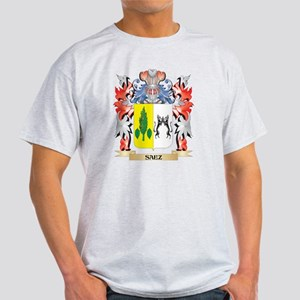 Saez Coat of Arms - Family Crest T-Shirt