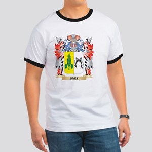 Saez Coat of Arms - Family Crest T-Shirt