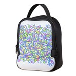 Pastel Leaves (FF) Neoprene Lunch Bag