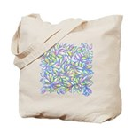 Pastel Leaves (FF) Tote Bag