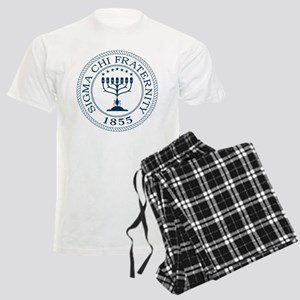 Sigma Chi Crest Men's Light Pajamas