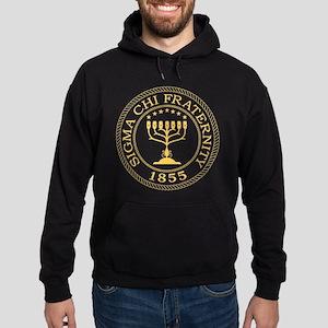 Sigma Chi Crest Hoodie (dark)