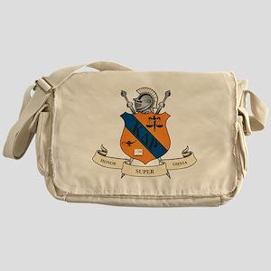Kappa Delta Rho Crest Messenger Bag