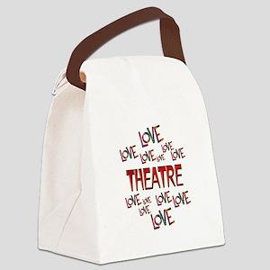 Love Love Theatre Canvas Lunch Bag