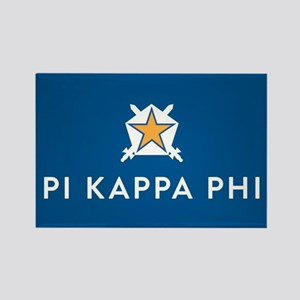 Pi Kappa Phi Rectangle Magnet