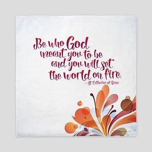 Set the World on Fire Queen Duvet