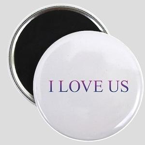 I LOVE US Magnets