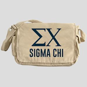 Sigma Chi Letters Messenger Bag