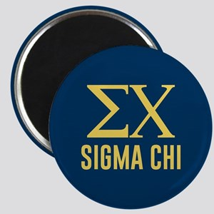Sigma Chi Letters Magnet