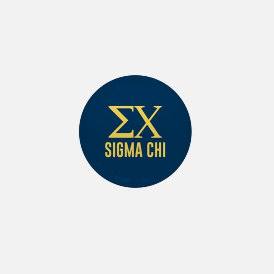 Sigma Chi Letters Mini Button