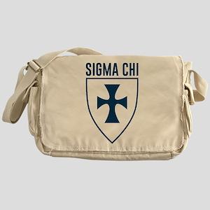 Sigma Chi Logo Messenger Bag