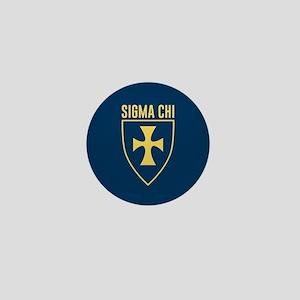 Sigma Chi Logo Mini Button