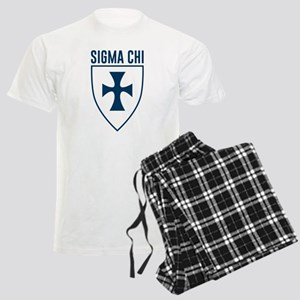Sigma Chi Logo Men's Light Pajamas