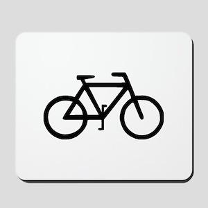 Bike Bicycle Cyclist Biker Mousepad