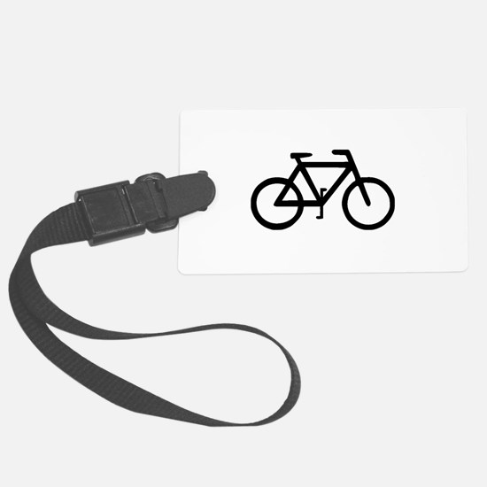 Bike Bicycle Cyclist Biker Luggage Tag