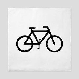 Bike Bicycle Cyclist Biker Queen Duvet