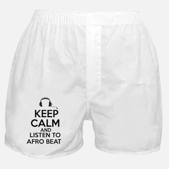 afro beat design Boxer Shorts