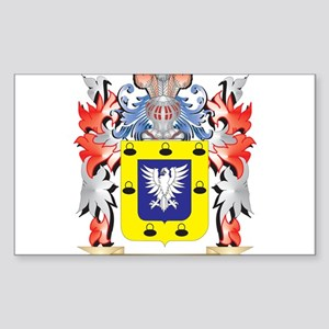 Sanchez Coat of Arms - Family Crest Sticker