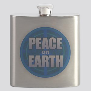 PEACE ON EARTH Flask