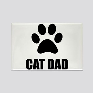 Cat Dad Paw Magnets