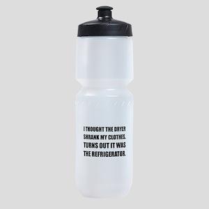 Refrigerator Shrank Clothes Sports Bottle