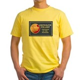 Anti trump Mens Classic Yellow T-Shirts