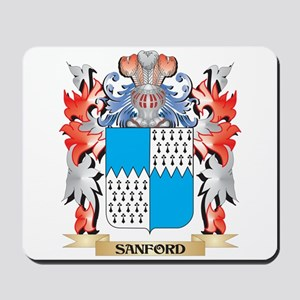 Sanford Coat of Arms - Family Crest Mousepad