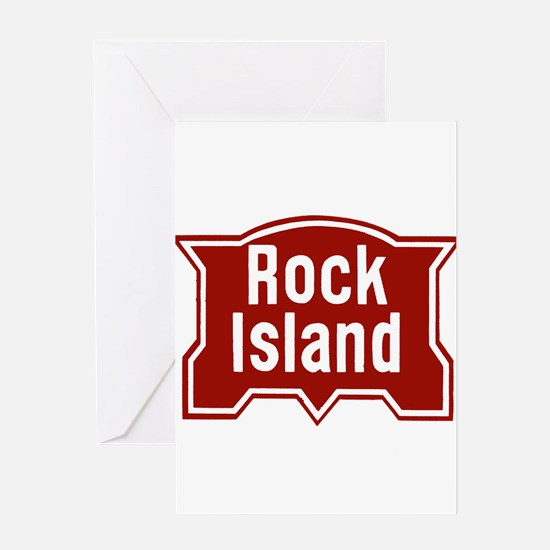 Rock Isle Railway Greeting Cards