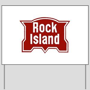 Rock Isle Railway Yard Sign