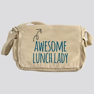 Awesome lunch lady Messenger Bag