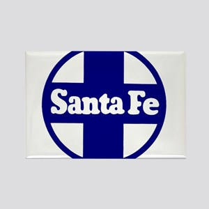 Santa Fe Railroad Blue Magnets