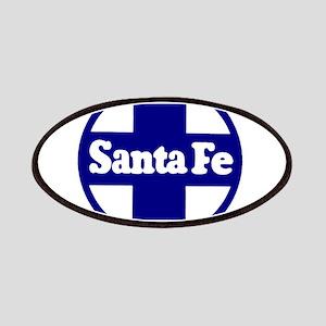 Santa Fe Railroad Blue Patch