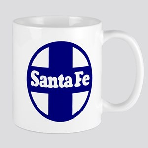 Santa Fe Railroad Blue Mugs