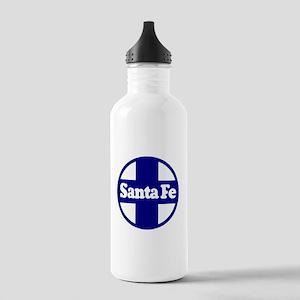 Santa Fe Railroad Blue Stainless Water Bottle 1.0L