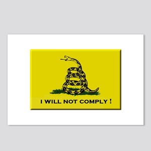 I will not comply Postcards (Package of 8)