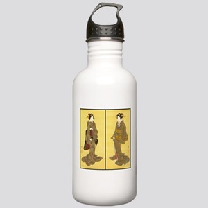 Geishas by Utagawa Stainless Water Bottle 1.0L