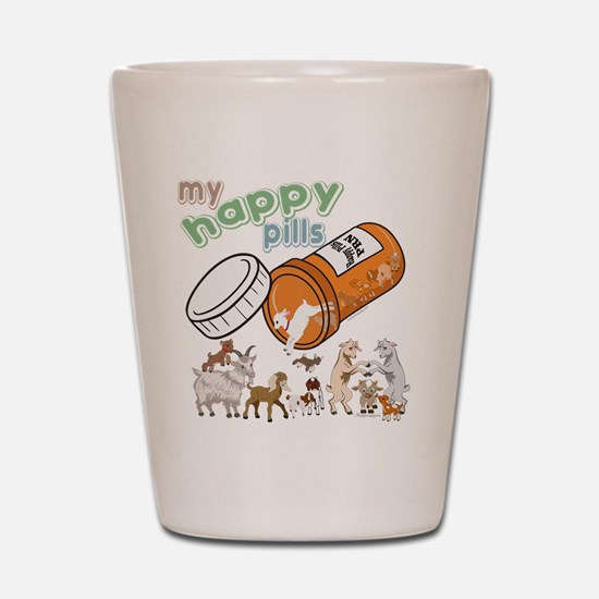 Goats | My Happy Pills GetYerGoat Origi Shot Glass