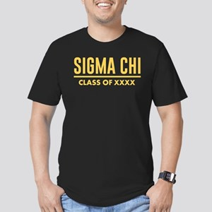 Sigma Chi Class of XXX Men's Fitted T-Shirt (dark)