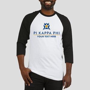 Pi Kappa Phi Personalized Baseball Jersey