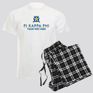 Pi Kappa Phi Personalized Men's Light Pajamas