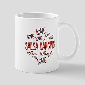 Love Love Salsa Dancing Mug
