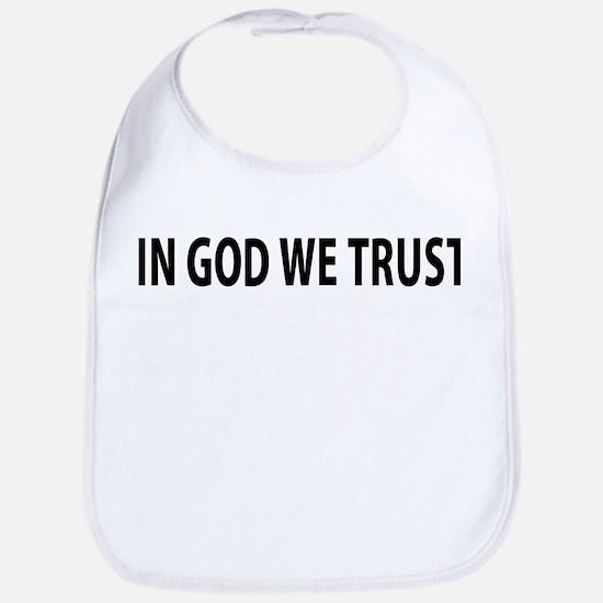 In God We Trust Baby Bib