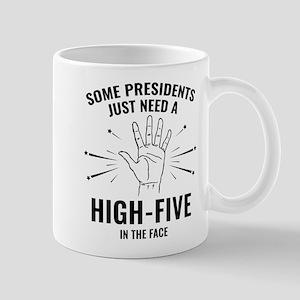 President High-Five Face Mug