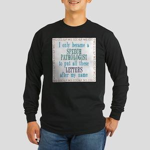 SLP Letters Long Sleeve T-Shirt