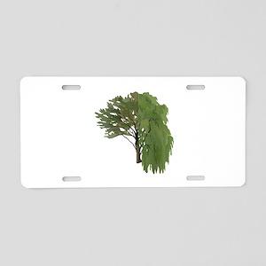 TREE Aluminum License Plate