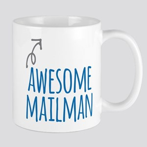 Awesome mailman Mugs