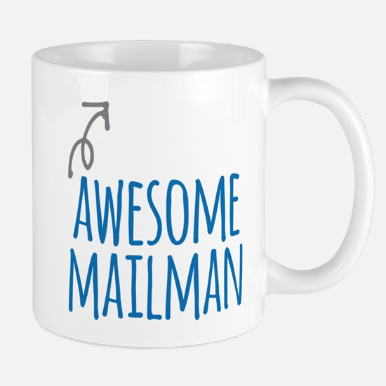 Awesome mailman Mugs