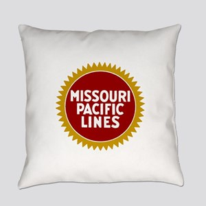 Missouri Pacific Railroad Everyday Pillow