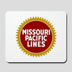 Missouri Pacific Railroad Mousepad